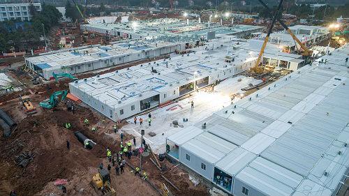 法媒:中国用10天建成火神山医院 这是了不起的壮举!