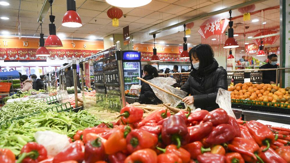 外電關注:中國努力確保14億人食品供應