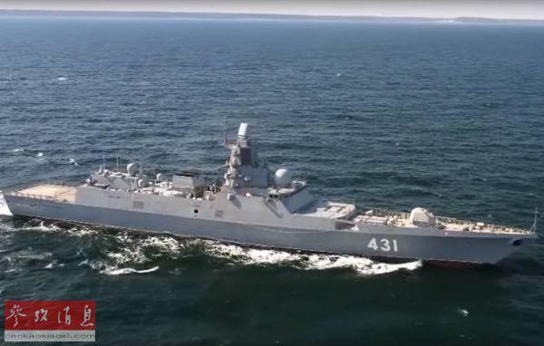 FFG-431 卡萨托诺夫海军上将号 试航 2020 2