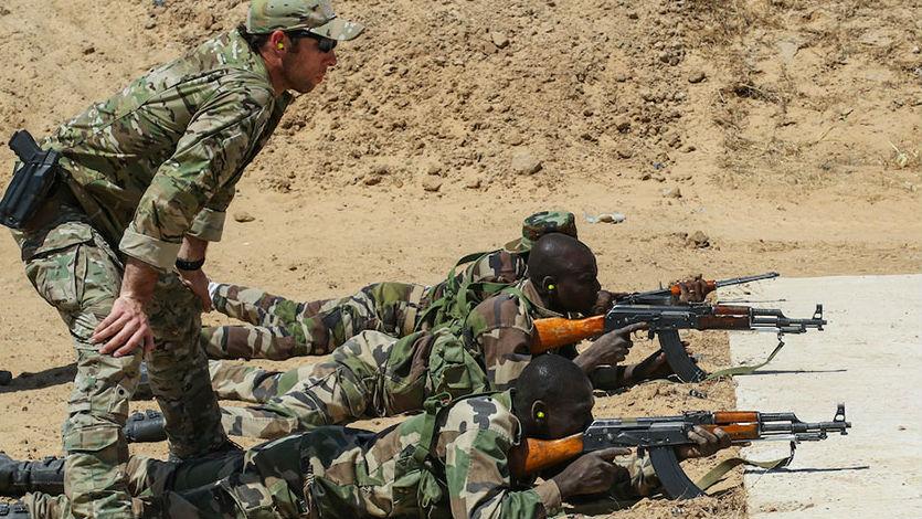 美媒:美陆军将向非洲派驻援助部队 增强对非影响力