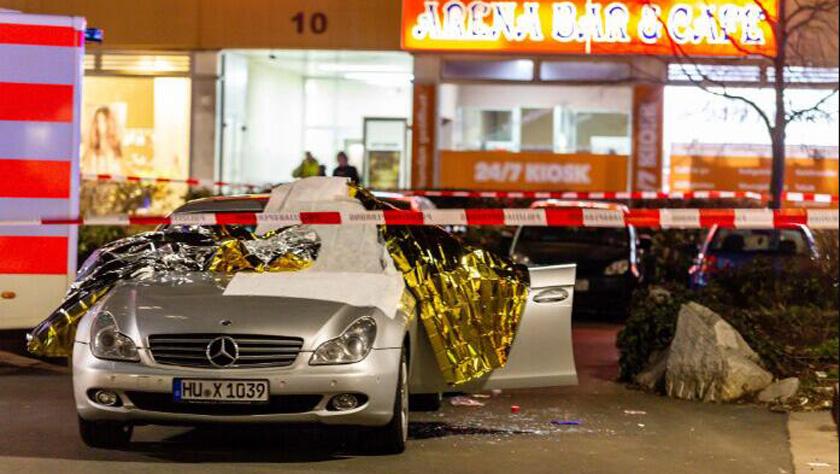 德国哈瑙市发生枪击事件至少8人死亡