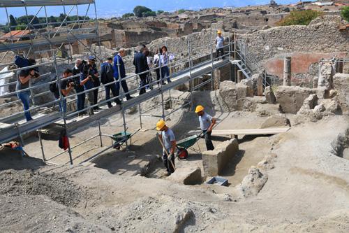 法媒:庞贝古城遗址修复工程结束 诸多珍宝重见天日