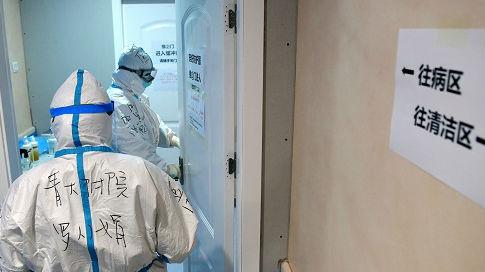 外媒眼中抗疫一线的中国医护人员——