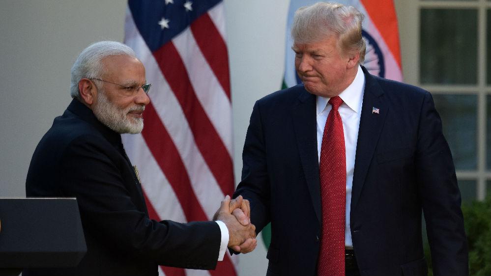 特朗普任内首访印度 德媒:难有实质成果