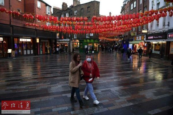 美国唐人街受新冠病毒恐慌影响 游客寥寥无几