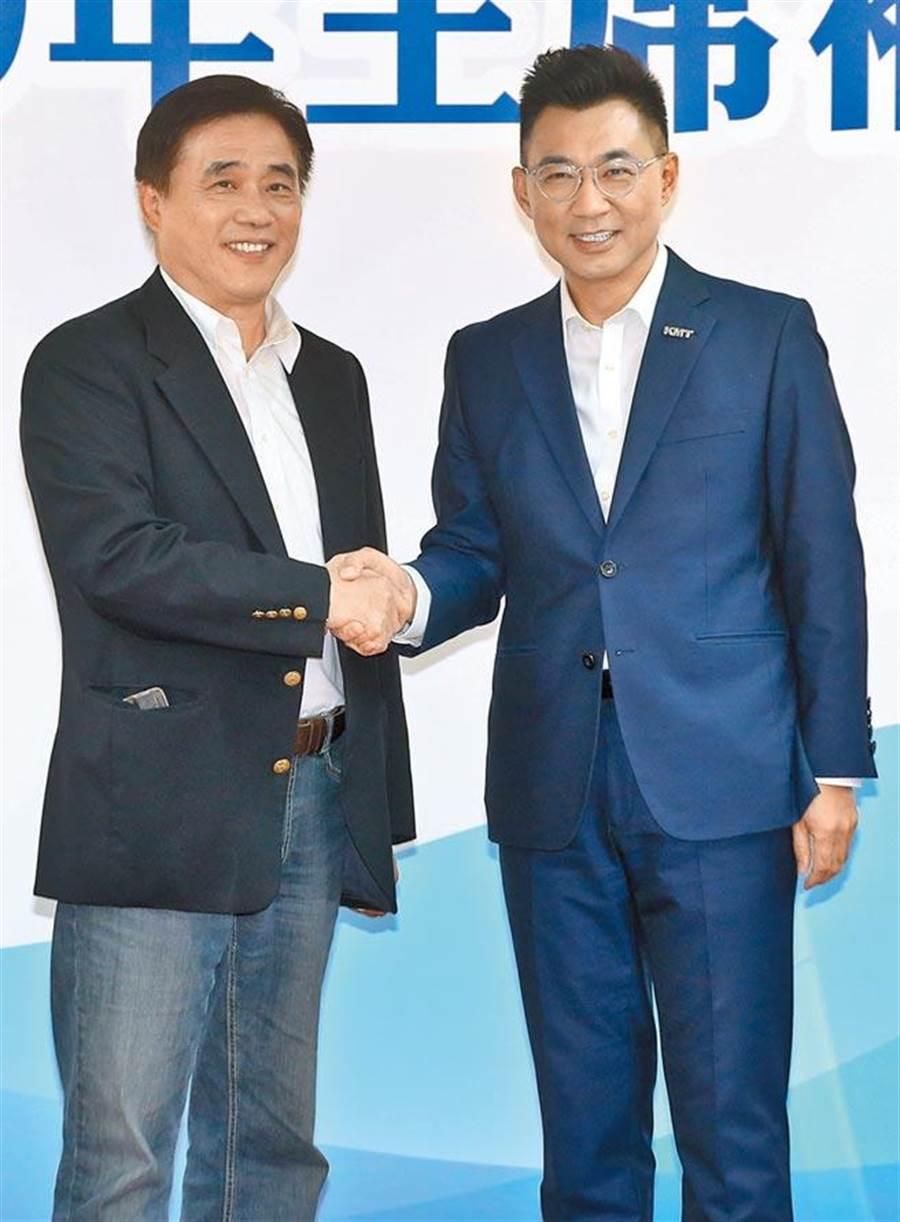 江启臣当选国民党主席 台媒:挑战才刚开始