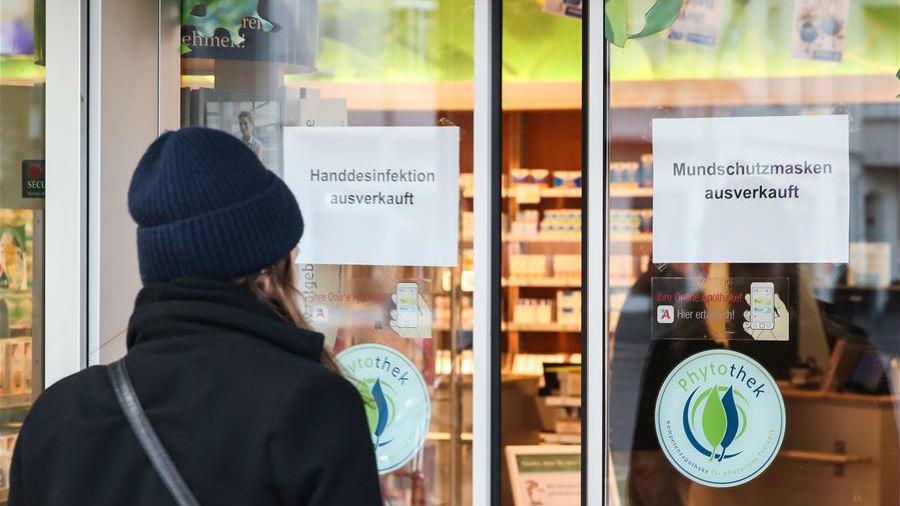 德国报告两例新冠肺炎死亡病例