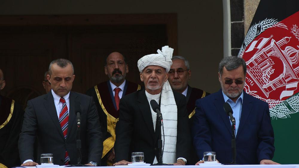"""外媒:阿富汗""""双总统""""各自宣誓就职 与塔利班谈判计划或陷混乱"""