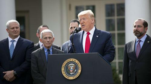 """境外媒体:特朗普先生,""""美国流感""""这个称呼怎么样?"""