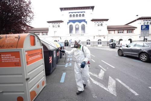 外媒:西班牙请求北约援助抗疫