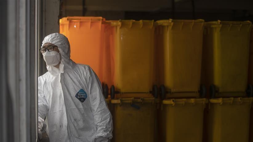 医疗废物处置人员:特殊战场战病毒