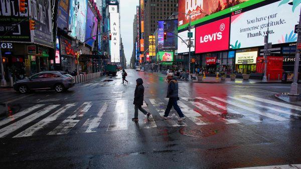 新冠疫情给纽约带来经济灾难:整座城市瘫痪