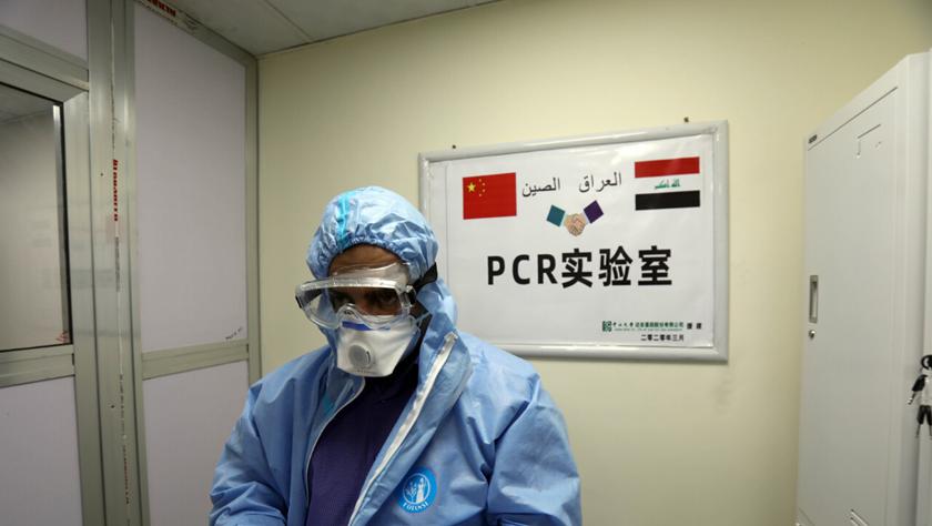 中国援建实验室救急伊拉克病毒检测
