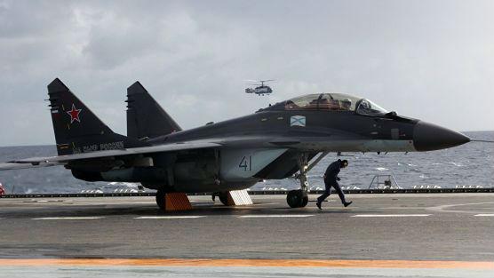 面对强国海军手无缚鸡之力?俄海航战机数量不足战力有限