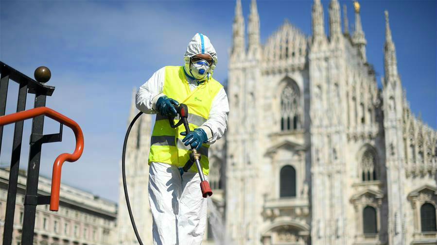 意医卫专家:意大利新冠肺炎疫情正进入平台期