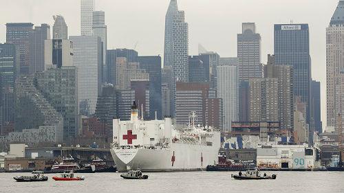 """美""""舒适""""号医疗船接诊条件苛刻 上千床位只接收20名病人"""