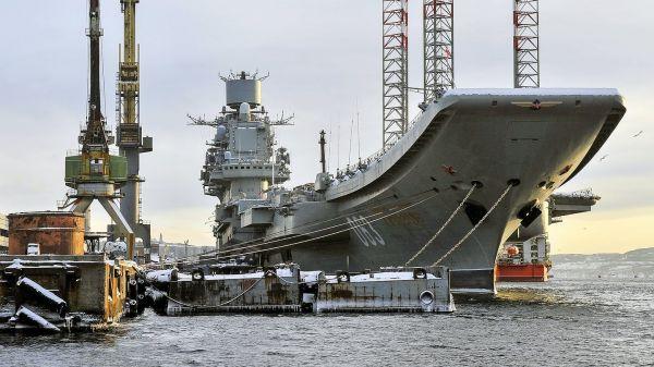 船坞改造承包商遇破产诉讼 俄军独苗航母交付日期再遭拖延
