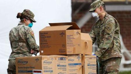 美军队新冠病例超过1500:军方仍不提供口罩 鼓励部队自行解决