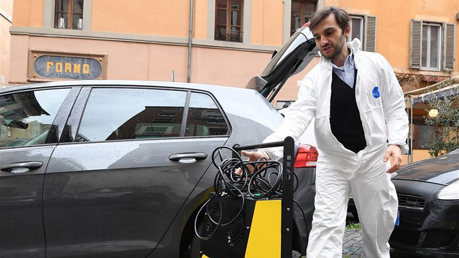 意大利死亡病例超過2.1萬例 部分商店恢復營業