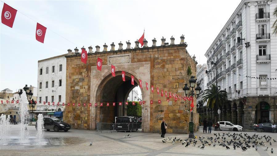 疫情下的突尼斯老城