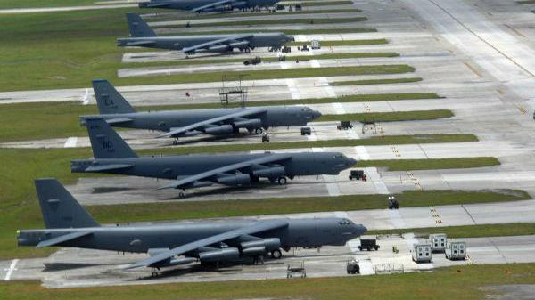 """从""""连续驻扎""""转向""""动态武力运用"""" B-52撤离关岛体现美空军对抗大国新构想"""