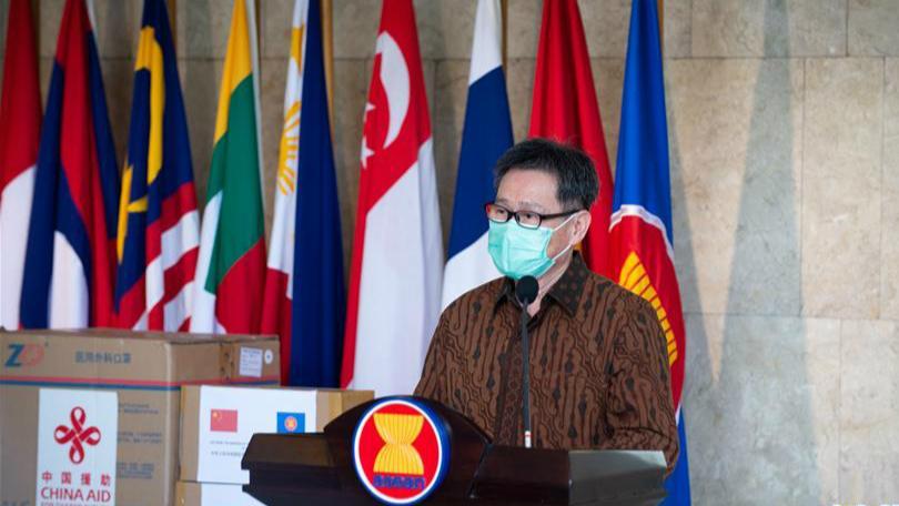 東盟秘書長高度肯定東盟和中國之間抗疫合作