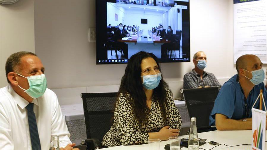 以色列與中國專家就新冠肺炎防治舉行視頻交流會議
