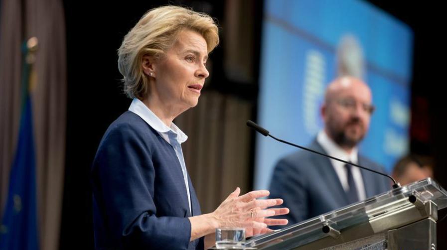 """歐盟成員國領導人同意設立""""恢復基金""""振興經濟"""