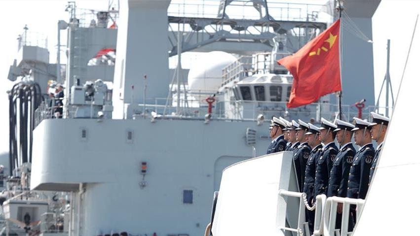 海軍第35批護航編隊啟航赴亞丁灣