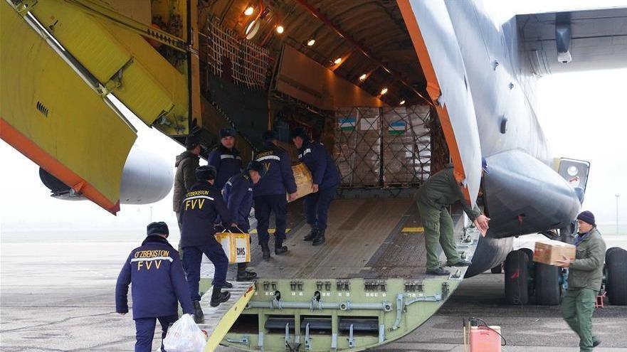 通讯:中乌两国抗疫合作记