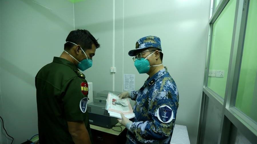 中國軍隊醫療專家組助力緬軍建立新冠病毒檢測實驗室