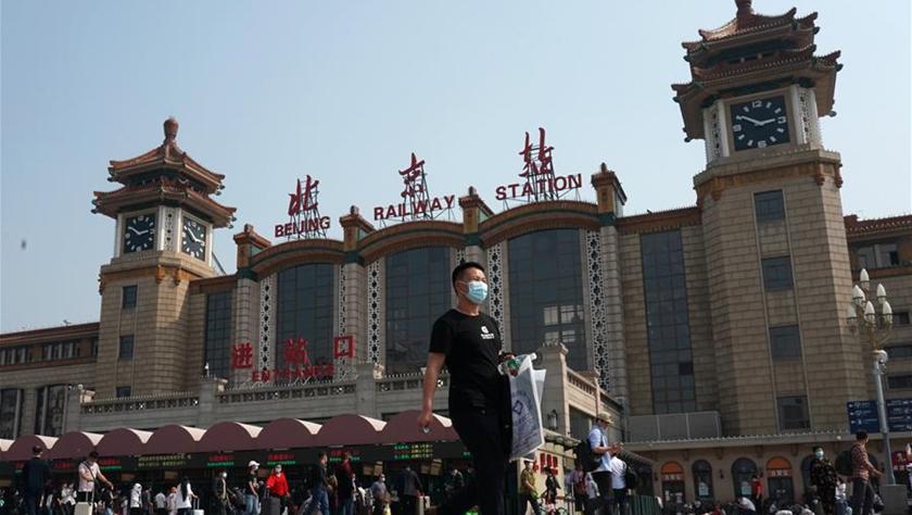 假期首日北京鐵路局發送旅客51.52萬人