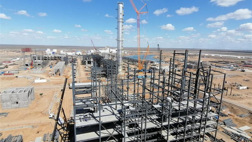 中企承建哈薩克斯坦最大化工項目防疫保產記