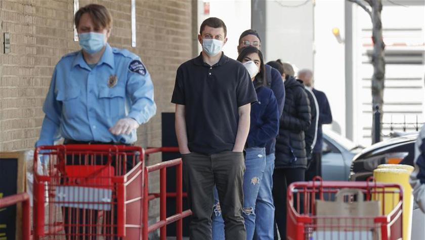 """美國伊利諾伊州新""""居家令""""要求公共場所必須戴口罩"""