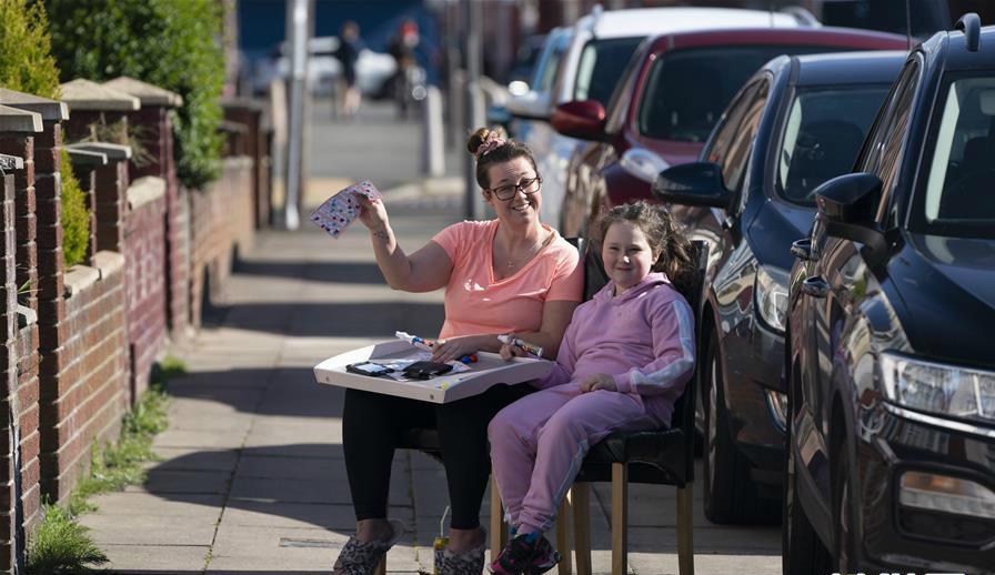 英國:疫情期間的街頭游戲