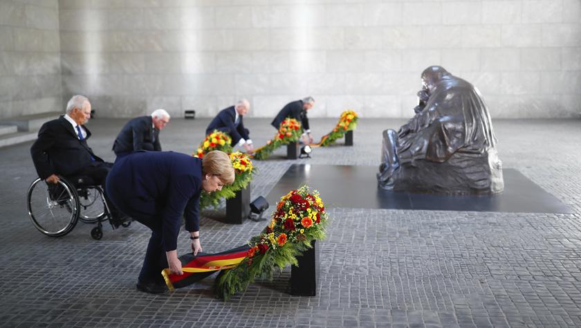 德國總統表示銘記歷史沒有終點