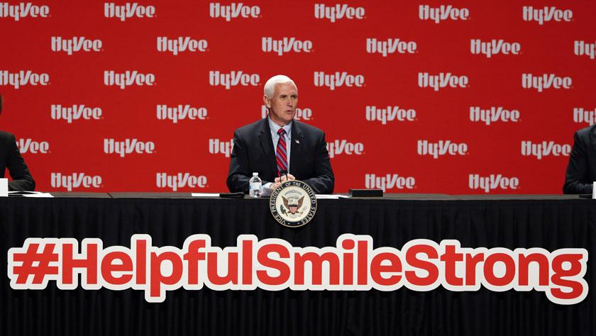 美國副總統彭斯未來數日內將避免與他人近距離接觸