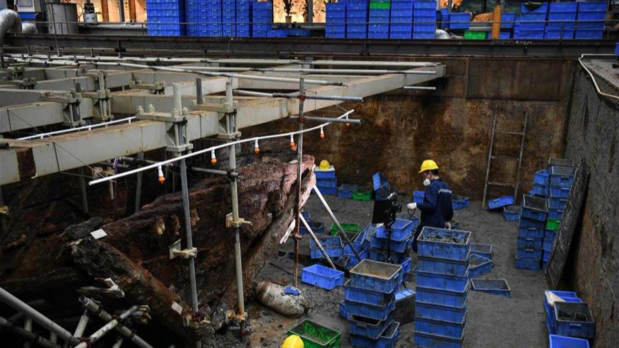 """""""南海I號""""考古發掘預計于2021年完成"""