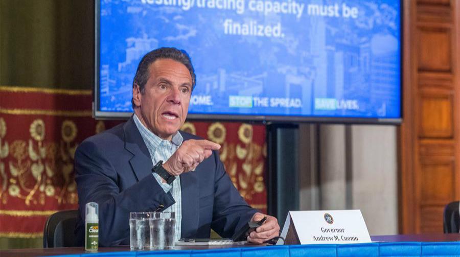 紐約州州長鼓勵民眾接受新冠檢測