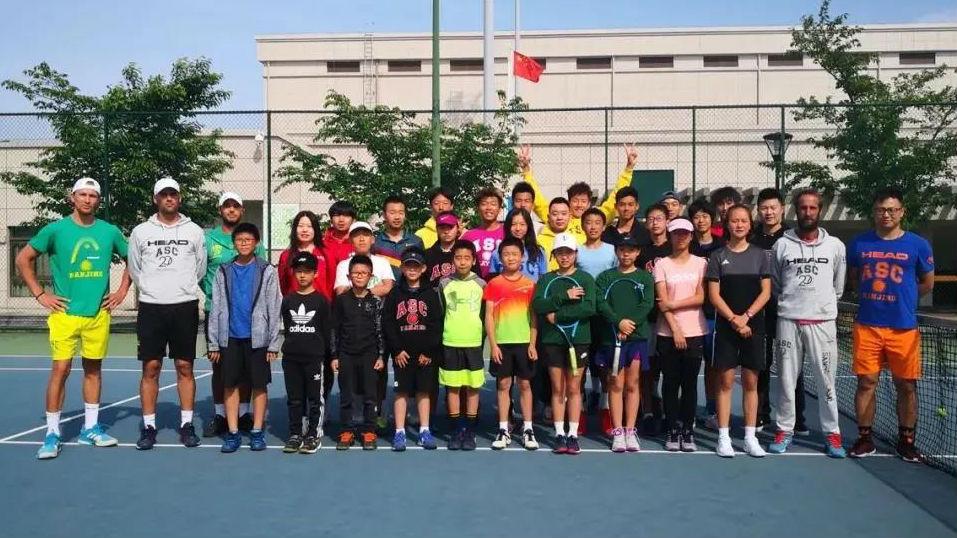 萨马兰奇网球时间— 南京桑切斯·卡萨尔网球学校4岁啦!
