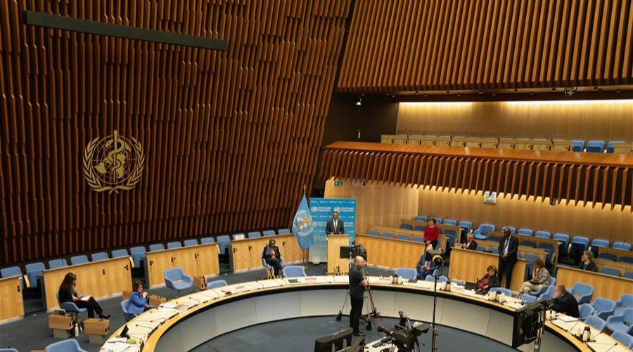 世衛大會開幕 譚德塞呼吁全球團結抗疫