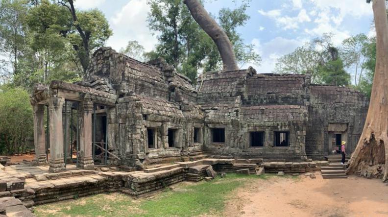 疫情下的柬埔寨吳哥古跡