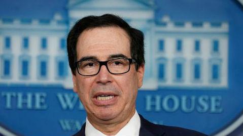 """美财长警告:新冠疫情将""""永久性损害""""美国经济"""