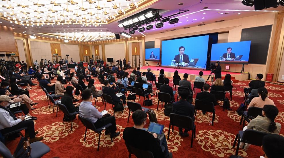 十三屆全國人大三次會議舉行新聞發布會