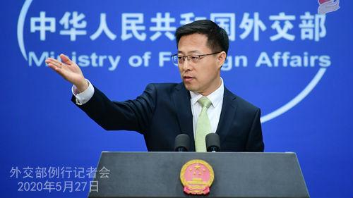 美方扬言就香港国安立法对中方实施制裁 外交部:将予以坚决回击