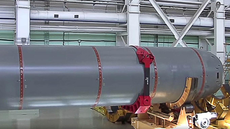 """俄媒:俄准备测试""""波塞冬""""核潜航器 有""""末日核弹""""之称"""