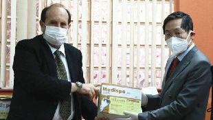 一场特殊的视频连线:中国专家为南美高原防疫抗疫支招——