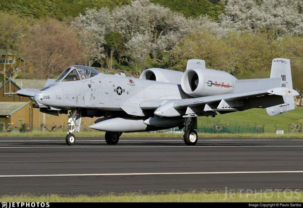 """绰号""""疣猪""""的美军A-10攻击机(美国雅虎新闻网站)"""