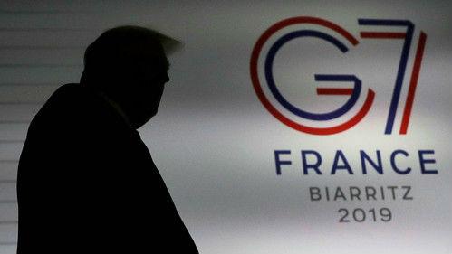 """境外媒体:特朗普妄想扩大G7搞""""反华联盟"""" 盟国反应冷淡"""
