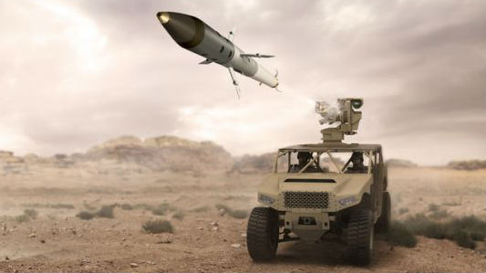 """航空火箭弹""""转行""""陆基版 英新型火箭弹完成首次地对地试射"""